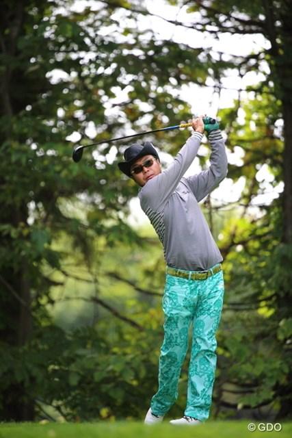 2013 ANAオープンゴルフトーナメント 初日 片山晋呉 実は北海道では未勝利…片山はジンクスも払拭する1勝を狙う。