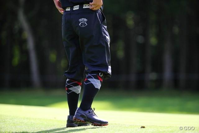 2013 ANAオープンゴルフトーナメント 初日 すし石垣 コース管理の方の脚ではありません。