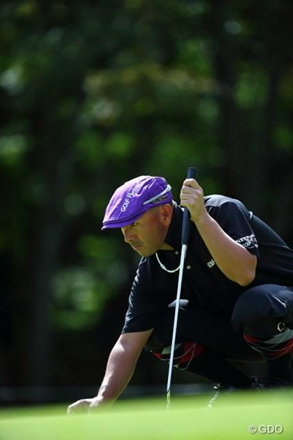 2013 ANAオープンゴルフトーナメント 初日 すし石垣 めっちゃ面白いけれど、本当はすごくシャイな方だと思う。