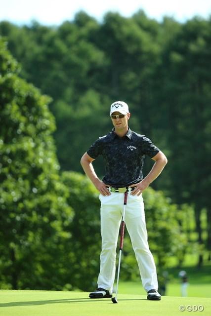 2013 ANAオープンゴルフトーナメント 初日 ブレンダン 誰がなんと言おうとMEは仁王立つのだ。