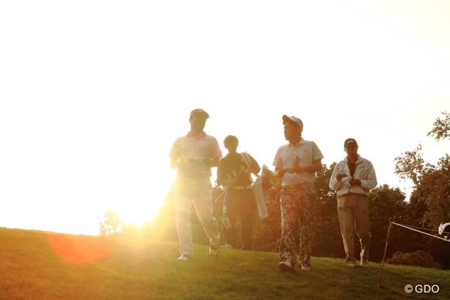 2013 ANAオープンゴルフトーナメント 初日 井上信、他 あぁ、今日も何時間撮影し続けたんだろう。