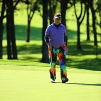 いいかも、そのウェア…キャラに合ってるかも。 2013 ANAオープンゴルフトーナメント 初日 小山内護