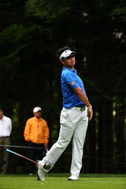 2013 ANAオープンゴルフトーナメント 初日 松山英樹 クラブが嫌になっちゃうのが頻繁に起きた今日のプレー。
