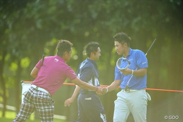 2013 ANAオープンゴルフトーナメント 初日 藤田寛之 松山英樹 賞金王のバトンを渡したの?