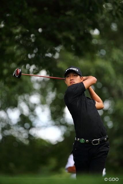 2013 ANAオープンゴルフトーナメント 初日 朴銀信 なんだか銀行だか信用金庫みたいな名前だけど女性からの人気うなぎのぼり。