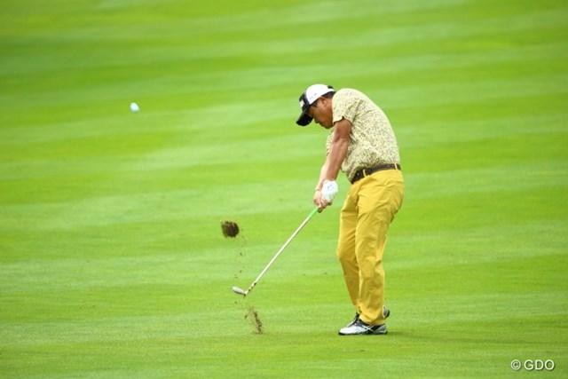 2013年 ANAオープンゴルフトーナメント 2日目 小田孔明 片山から単独トップの座を奪った小田、一気に逃げ切れるか。