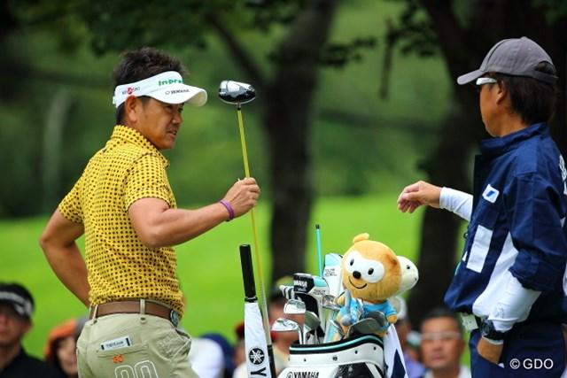 2013年 ANAオープンゴルフトーナメント 2日目 藤田寛之 昨年覇者の藤田は2日連続できっちりと60台をマーク。試行錯誤を続けながら好位置で決勝ラウンドへ。