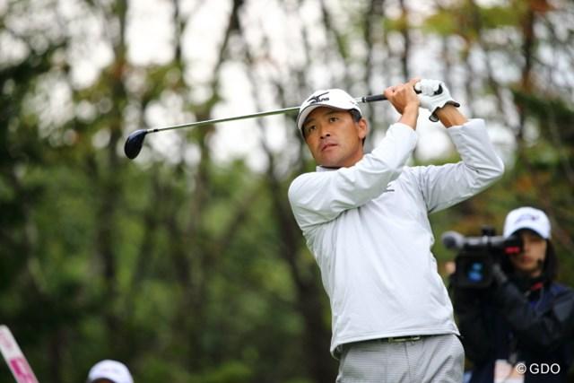 2013年 ANAオープンゴルフトーナメント 2日目 手嶋多一 シード権をキープするため、シーズン後半戦も見据える手嶋。