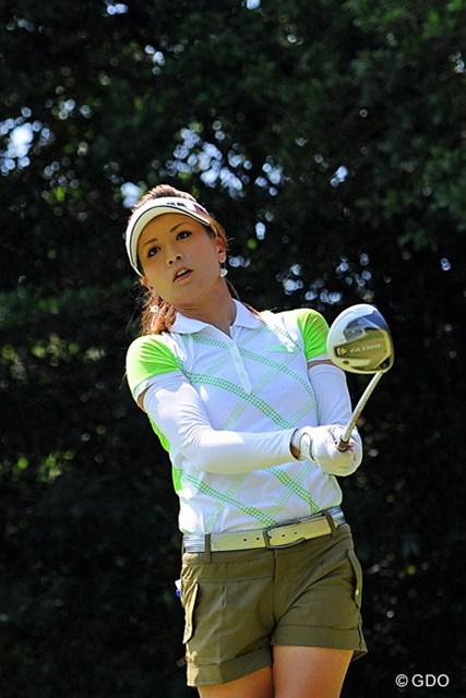 1ヶ月のトレーニングで体幹を鍛え直したという辻村明須香。「力まず、頑張ろうとせず」の自然体で上位フィニッシュを狙う