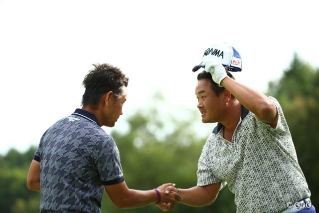 2013年 ANAオープンゴルフトーナメント 3日目 藤田寛之&小田孔明 3日目に同じ最終組をプレーした藤田と小田。最終日も直接対決する。