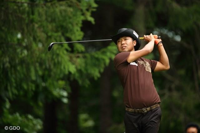 2013年 ANAオープンゴルフトーナメント 3日目 片山晋呉 片山は前半にボギーが先行する苦しい展開。3打差から逆転を狙う。
