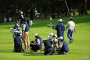 2013年 ANAオープンゴルフトーナメント 3日目 テレビクルー