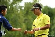 2013年 ANAオープンゴルフトーナメント 3日目 松山英樹&キャディ