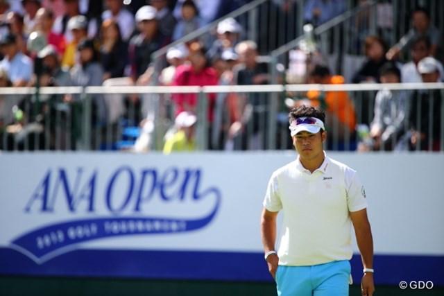 2013年 ANAオープンゴルフトーナメント 最終日 松山英樹 しばらく日本を留守にする松山。次なる国内ツアー参戦は11月となる。
