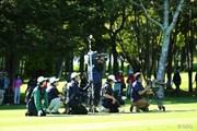2013年 ANAオープンゴルフトーナメント 最終日 テレビクルー