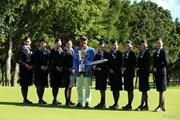 2013年 ANAオープンゴルフトーナメント 最終日 小田孔明&CA