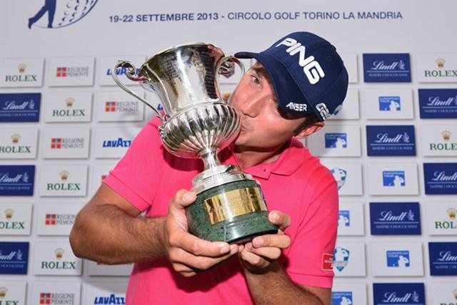2013年 イタリアオープン 最終日 ジュリアン・ケン サンデーバックナインで猛チャージ! ツアー通算2勝目を手にしたJ.ケン(Stuart Franklin /Getty Images)