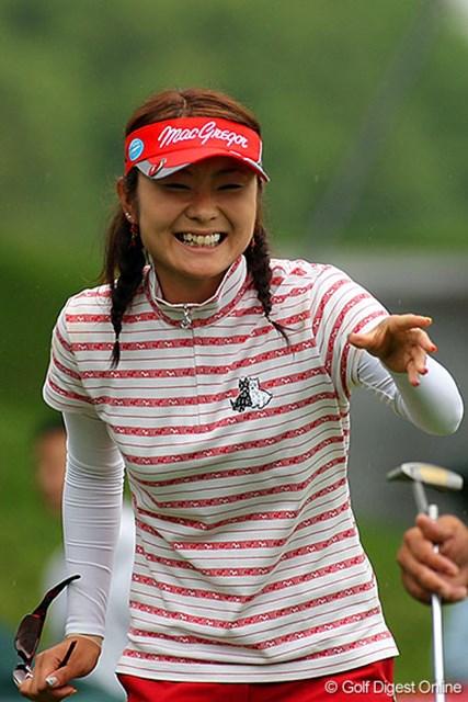 2位タイの好スタートに、笑顔がこぼれる藤田幸希