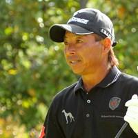 慣れ親しんだ茨木CCでの試合。しかし井戸木は初日5オーバーと出遅れた。 2013年 アジアパシフィックオープンゴルフチャンピオンシップ パナソニックオープン 初日 井戸木鴻樹