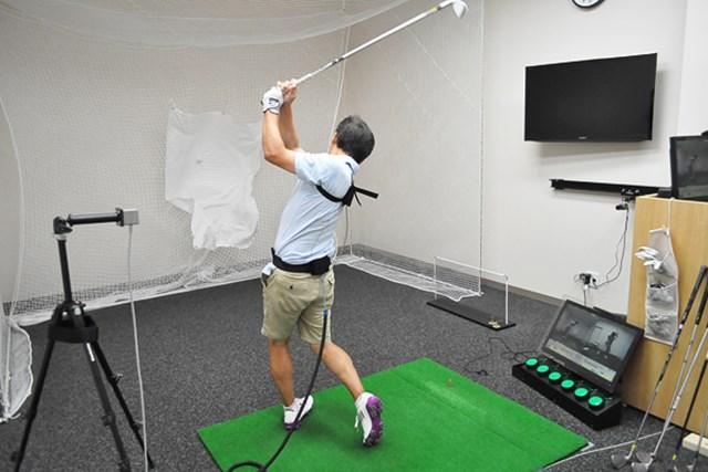 golftec インサイドに上がる典型例を改善 1-1
