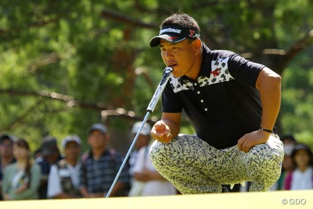 2013年 アジアパシフィックオープンゴルフチャンピオンシップ パナソニックオープン 3日目 平塚哲二 あごで。