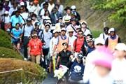 2013年 ミヤギテレビ杯ダンロップ女子オープンゴルフトーナメント 2日目 宮里藍