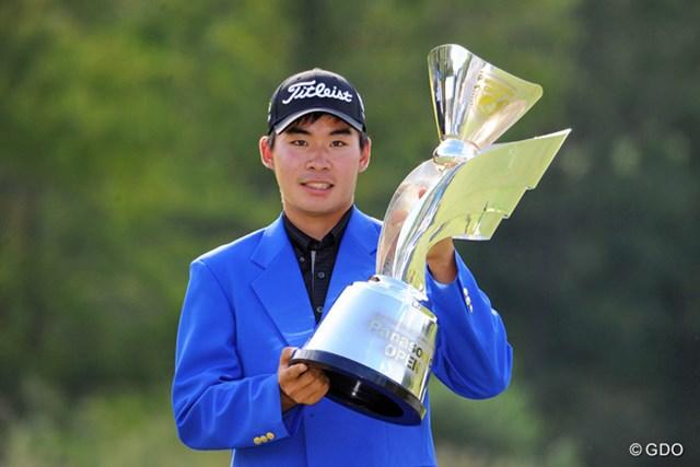 20歳の川村昌弘が逆転でツアー初優勝を果たした