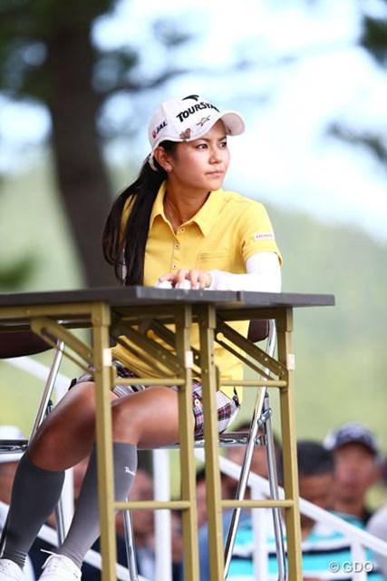 2013年 ミヤギテレビ杯ダンロップ女子オープンゴルフトーナメント 最終日 宮里藍 アテストを終えて心境は・・・