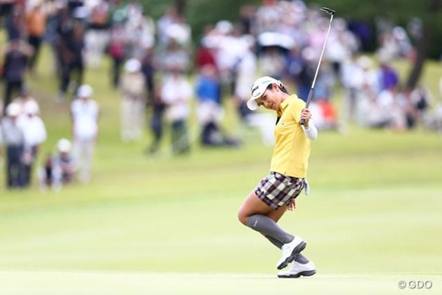 2013年 ミヤギテレビ杯ダンロップ女子オープンゴルフトーナメント 最終日 宮里藍 10番でも連続バーディ