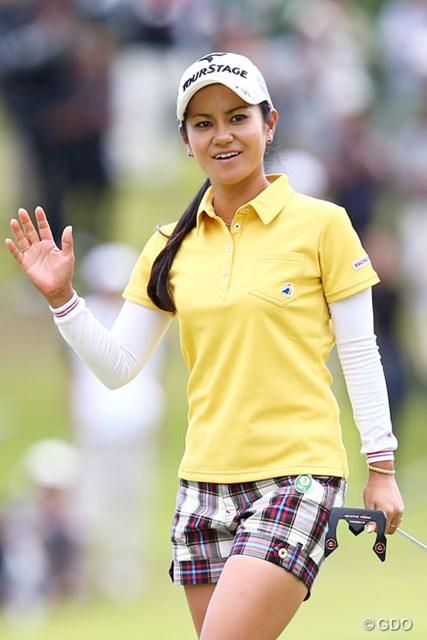 2013年 ミヤギテレビ杯ダンロップ女子オープンゴルフトーナメント 最終日 宮里藍 藍スマイルで優勝へ・・・