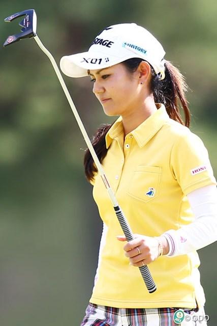 2013年 ミヤギテレビ杯ダンロップ女子オープンゴルフトーナメント 最終日 宮里藍 パターが突然・・・