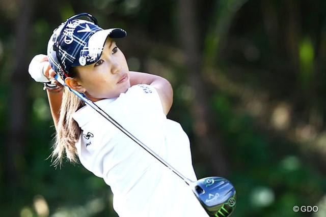 2013年 ミヤギテレビ杯ダンロップ女子オープンゴルフトーナメント 最終日 上田桃子 現在は日米ともにシード圏外。上田桃子の動向も大いに気になるところ