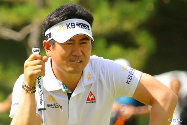 2013年 アジアパシフィックゴルフチャンピオンシップ パナソニックオープン 最終日 Y.E.ヤン メジャーチャンピオンの形相