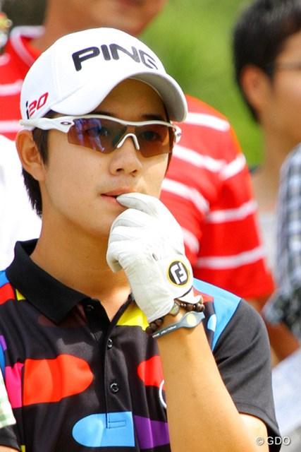 2013年 アジアパシフィックゴルフチャンピオンシップ パナソニックオープン 最終日 ソン・ヨンハン 日本の女性に人気出そう。