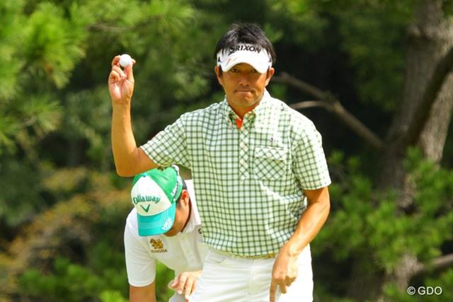 2013年 アジアパシフィックゴルフチャンピオンシップ パナソニックオープン 最終日 山下和宏 初勝利はまたもお預け。残念。