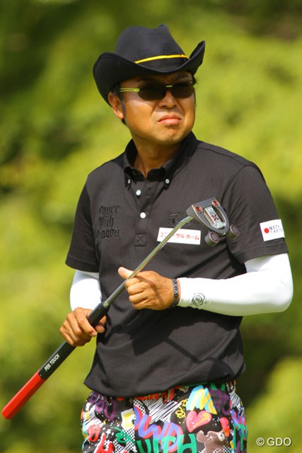 2013年 アジアパシフィックゴルフチャンピオンシップ パナソニックオープン 最終日 片山晋呉 最終日のパターはアダム・スコットモデル
