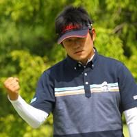 前半は同じ最終組のS.J.パクとマッチレースの様相も漂わせたが… 2013年 アジアパシフィックゴルフチャンピオンシップ パナソニックオープン 最終日 貞方章男