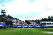 2013年 アジアパシフィックゴルフチャンピオンシップ パナソニックオープン 茨木CC西コース 18番グリーン