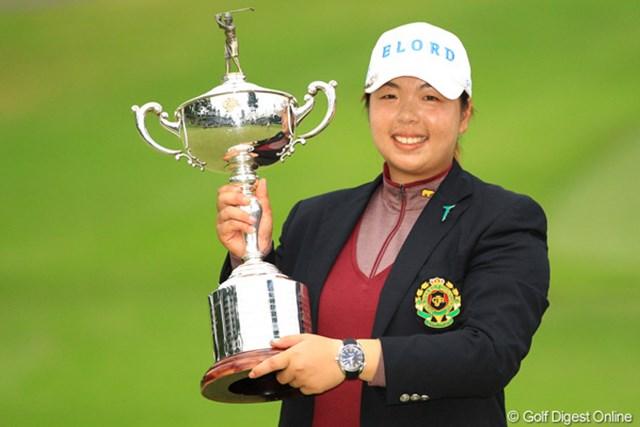 2013年 日本女子オープンゴルフ選手権競技 事前情報 フォン・シャンシャン 昨年覇者はフォン・シャンシャン。頂点を決める日本女子オープンがいよいよ開幕する。