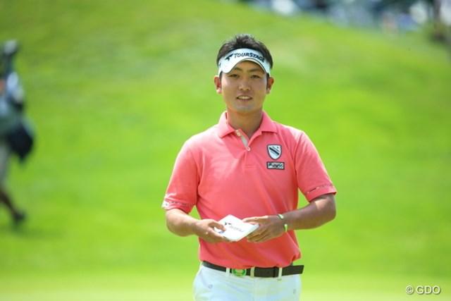 2012年度のチャレンジ賞金王 今後の活躍が楽しみな若手の一人だ。