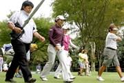 2013年 日本女子オープンゴルフ選手権競技 事前 森田理香子&岡本綾子