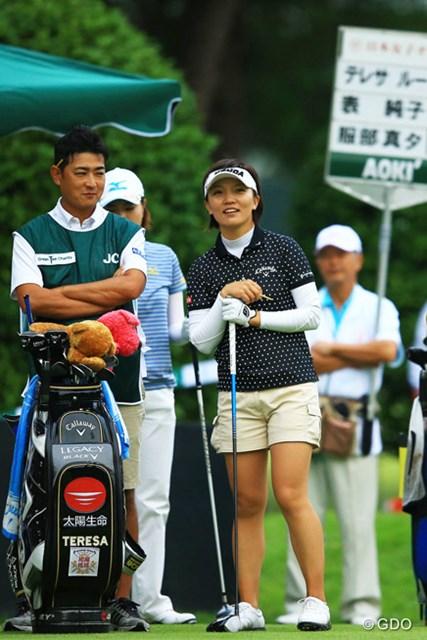 2013年 日本女子オープンゴルフ選手権競技 初日 テレサ・ルー さぁそろそろ初優勝しても良い頃では?2アンダー首位タイスタート。