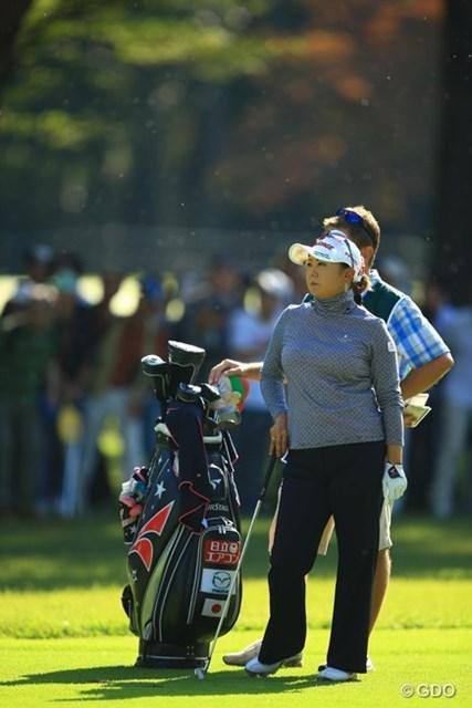 2013年 日本女子オープンゴルフ選手権競技 初日 佐伯三貴 初のメジャー制覇に向けて、首位タイの好発進です。