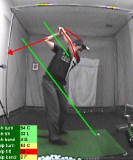 golftec 左手首が折れる癖を集中改善! 1-1