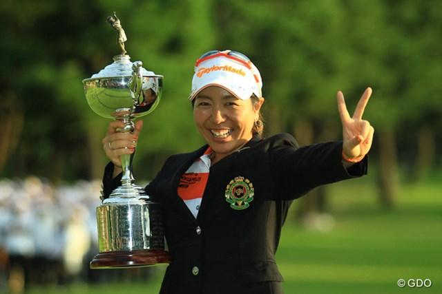 2013年 日本女子オープンゴルフ選手権競技 最終日 宮里美香 最終ホールで劇的バーディ!宮里美香は2010年大会以来の女子オープン制覇となった。