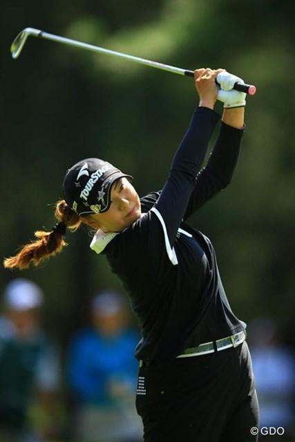 2013年 日本女子オープンゴルフ選手権競技 最終日 佐伯三貴 69のナイスラウンドでしたが、惜しくも1打足りず・・・2位タイフィニッシュです。