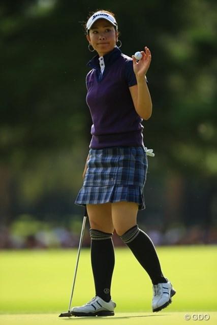 2013年 日本女子オープンゴルフ選手権競技 最終日 森田理香子 メジャーの最終日に68。真の実力が付いた証拠ですよね。上位陣を脅かしました。2オーバー4位タイフィニッシュ。