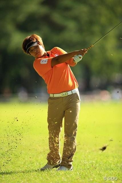 2013年 日本女子オープンゴルフ選手権競技 最終日 野村敏京 前半からエンジン全開!69をマークし、4位タイフィニッシュです。