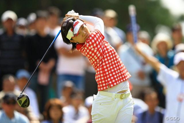 2013年 日本女子オープンゴルフ選手権競技 最終日 テレサ・ルー 今日はボギー1つと安定したゴルフで優勝争いに絡みました。4位タイフィニッシュ。
