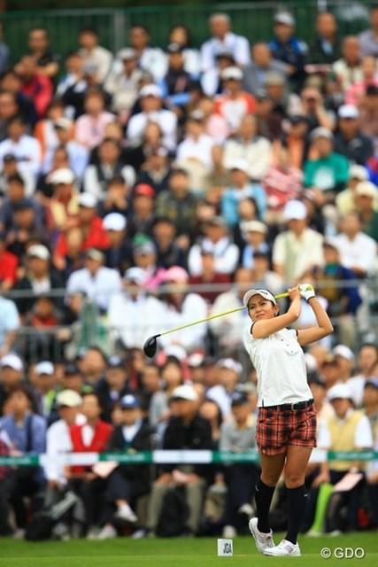 2013年 日本女子オープンゴルフ選手権競技 最終日 宮里藍 最終日も残念ながらファンの期待には応えられず・・・。16オーバー45位タイフィニッシュ。